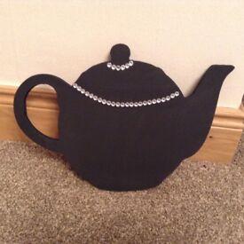 Little teapot chalkboard shape