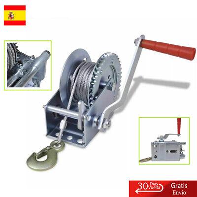 Cabrestante Manual de Arrastre Tracción Camioneta Remolque Hierro544kg24x24x15cm segunda mano  España