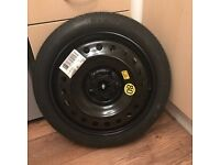 vauxhall insignia space saver17 inch full tool kit and wheel brace