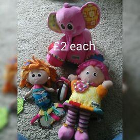 Lamaze girls toys