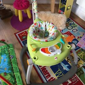 Fisher Price Space saver rainforest jumperoo