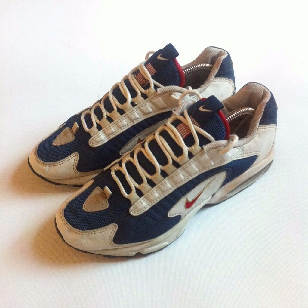 ... sneakers lace; vintage 90 s nike triax air max trainers uk 10 in west  ealing ...