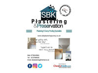 PLASTERING & DAMP PROOFING SPECIALIST