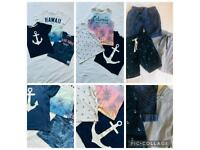 Boys H&M summer shorts tshirts, age 2-4yrs, excellent condition