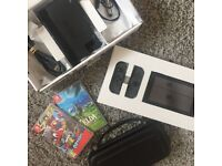 NINTENDO SWITCH GAMES CONSOLE WITH BOX + GAMES + CASE