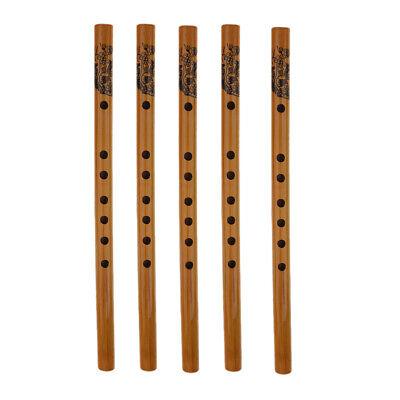 5 x Chinesische Bambusflöten Flöte Chinesische Blasinstrument Für