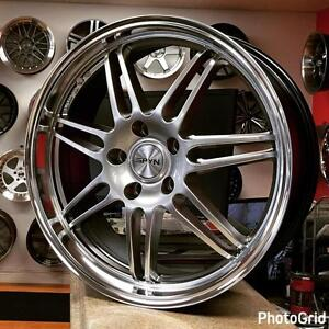 @Zracing 905 673 2828 18 inch Rims Wheels Rim VW Audi A3 S3 etc ( 4 New Rims $699 +Tax )