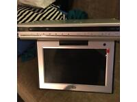Flip down Tv/DVD /freeview for camper/Caravan