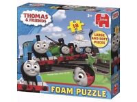THOMAS AND FRIENDS GIANT FOAM JIGSAW PUZZLE (BRAND NEW )