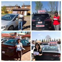 Driving Lessons- Male & Female certified instructors