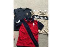 Boys t shirt bundle Ralph Lauren age 7-8