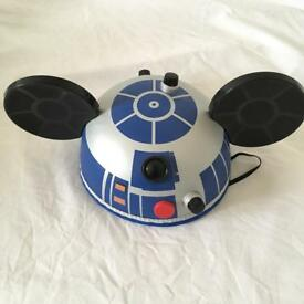 Disneyland Paris - Star Wars R2 D2 Mickey Mouse ears