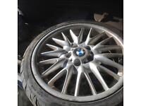 Selections of BMW alley wheels 15',16',17' and18' with tiers from £50.