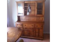 BEAUTIFUL ERCOL CANTERBURY DRESSER - GOLDEN DAWN