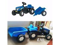 Ride On Tractor Toy