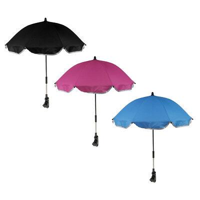 Sun Umbrella Parasol Baby Boy Girl Buggy Pushchair Pram Stroller Shade Cover