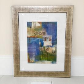 Abstract Art - Framed - 70 x 85 cm
