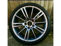 Genuine BMW MV3 Alloys & Run Flat Tyres - Ferric Grey