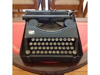 Vintage empire typewriter