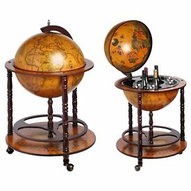 Ancient World Globe Drinks Cabinet will stand out in any home