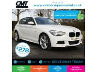 BMW 1 Series 2.0 120d M Sport Sports Hatch xDrive (s/s) 5dr Good / Bad Credit...