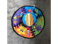 Lamaze baby spin and explore the sea tummy time toy playmat