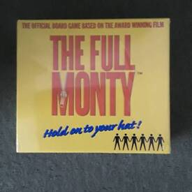 The Full Monty board game Brand New still sealed in box