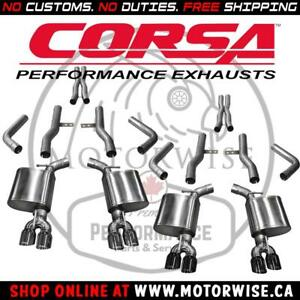 Corsa Xtreme Catback Exhaust System | Dodge Challenger SRT & Hellcat | Shop Corsa Performance online at www.motorwise.ca