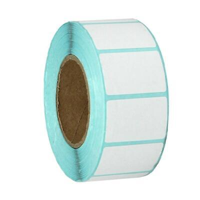 1000pieces 30x20mm Blank White Thermal Labels Rolls Self Adhensive Sticker Kit