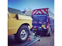 Tow Transport Car 4x4 project Track show Caravan abnormal plant