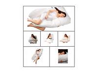Pregnancy / maternity / nursing pillow - U shape, wedge Pillow with 100% Cotton washable pillowcase