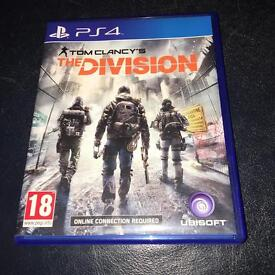 Tom Clancy's The Division for PS4, Excellent Condition !!!