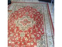 2 large rugs. Good quality. Made in Egypt.