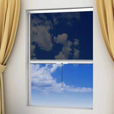 vidaXL Window Insect Screen Roll-Down Fly Bug Mosquito Net W