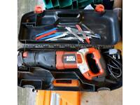 Black and Decker reciprocating saw RS1050E 105w