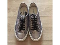 New silver-grey Superga women's trainers size 41 (7)