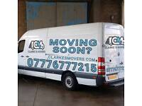 Man and Van from £25 ph Professional Removal Services Same Day Deliveries Van Hire Hackney Islington
