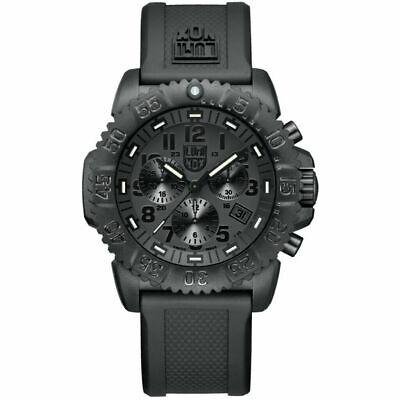 LUMINOX Navy Seal Colormark Chronograph Blackout Watch 3081.BO