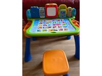 Touch &learn activity desk