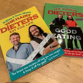 REDUCED The Hairy Dieters Recipe Books - Book 2 & 3