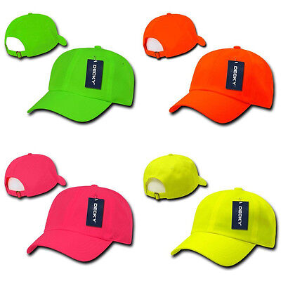 Basic Neon cap Baseball Caps Stitched eyelets Verstellbar 761