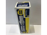 Newlec 12W 240v compact fluorescent lamp brand new in box