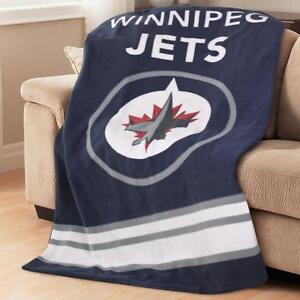 New Sunbeam Winnipeg Jets NHL Heated Throw Blanket
