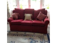Multiyork Settee and Two Matching Armchairs