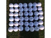 Srixon,Titleist,callaway,Topflite,Nike, B Grade/Practise Golf balls