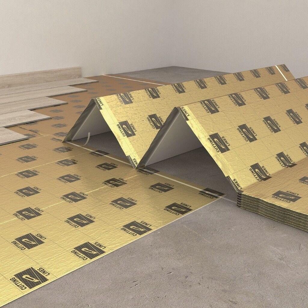 Vinyl Tile Laminate Flooring Underlay Secura Lvt Smart 10 Sqm