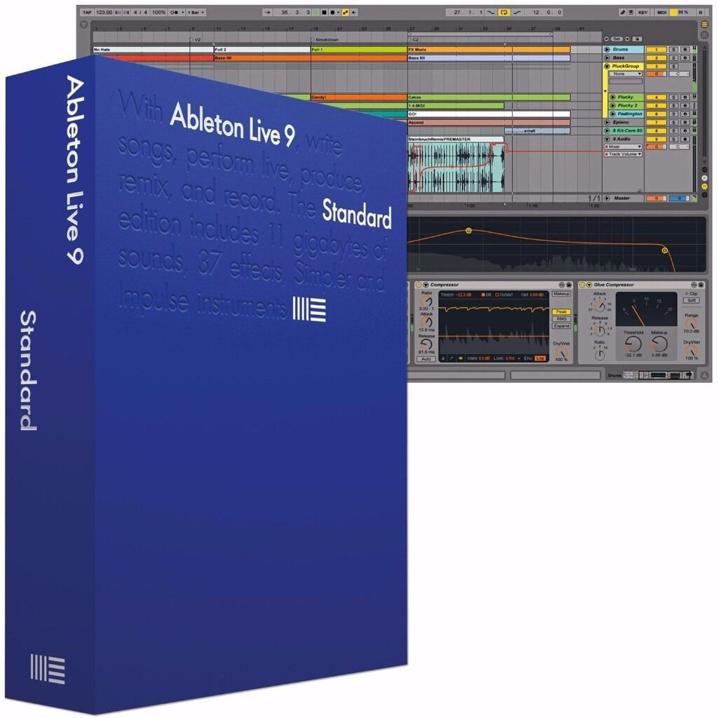 Ableton Live 9 Standard Edition- full package & permanent license (NOT  upgrade/education version) | in Herne Bay, Kent | Gumtree