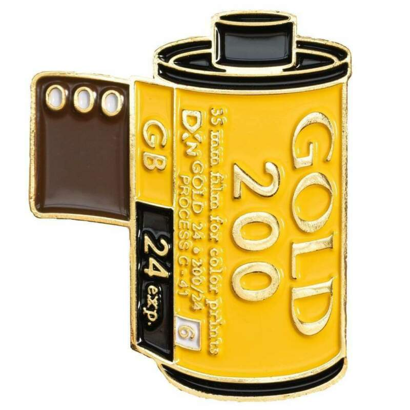 Kodak Gold 200 Film Canstister Lapel Pin