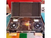Pioneer CDJ2000s + XDJ1000s: DJ Equipment Hire