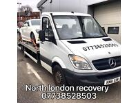 Car recovery and transport breakdown cover